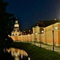 ночь у Александро-Невской Лавры :: Елена