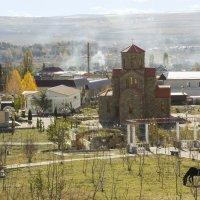 Вид на храмовый комплекс с горы Вознесения :: Герасим Харин