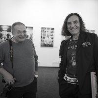 На выставке Льва Мелихова :: Николай