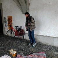 Уличный музыкант :: Натали Пам