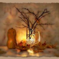 Когда осыпаются листья... :: Людмила Богданова (Скачко)