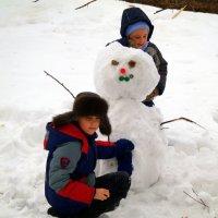 А вы уже слепили бабу снежную?:) :: Андрей Заломленков