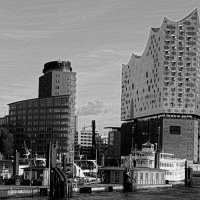 Смотровая площадка филармонии Гамбурга (серия). Здание филармонии :: Nina Yudicheva
