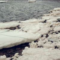 Белое море зимой :: Наталья Копылова