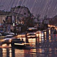 Ночной дождь :: Вячеслав Платонов