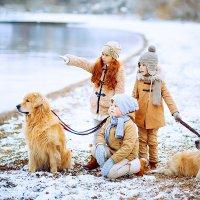 Дети и собаки :: Татьяна Куртукова