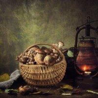 Натюрморт с грибами :: Ирина Приходько