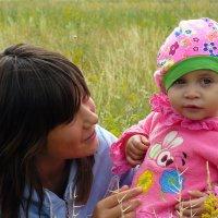 С Днём матери!  Для матери ребёнок до ста лет дитёнок! :: Андрей Заломленков