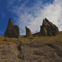 Зубы дракона на склонах Эльбруса. Джилы-Су :: Vladimir 070549