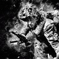 Врага сметая пред собой, мы в праведный вступаем бой! :: Виктор Никаноров