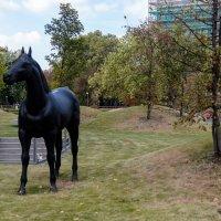 Конная статуя возле Оффиса :: Witalij Loewin