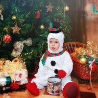 Снеговик :: марина алексеева