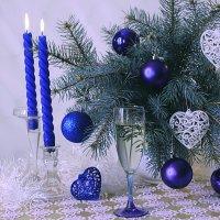 С синими шарами. :: alfina