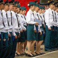 Выпуск в военном училище . :: Александр