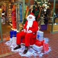 Рождество (серия). Улыбающийся Weihnachtsmann :: Nina Yudicheva