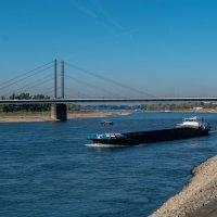 Рейн в районе Дюссельдорфа :: Witalij Loewin