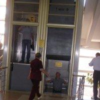 Москва, лифт непрерывного действия в здании Наркомзема СССР :: Maikl Smit