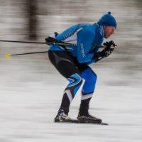 Тренировка красноярских биатлонистов :: Виктория Многогрешнова