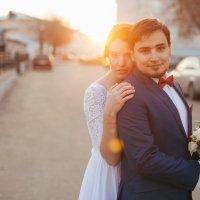 поймать короткий октябрьский закат :: Анастасия Гусарова