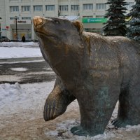 Символ города Пермь-МЕДВЕДЬ :: Валентина Папилова
