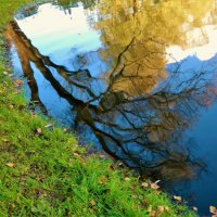 Осенняя акварель... :: Sergey Gordoff