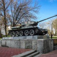 Легендарный Т-34 :: Андрей Головкин