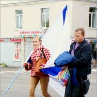 Улыбка с Андреевским флагом :: Кай-8 (Ярослав) Забелин