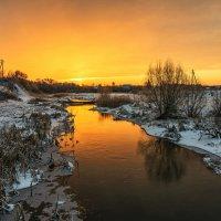 Оранжевое небо. :: Александр Тулупов