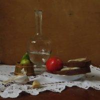 Только с салом на столе будет счастье на земле. :: Наталья Джикидзе (Берёзина)