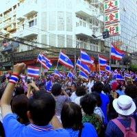 Демонстрация в Бангкоке 2014 год. :: Иван Медоф