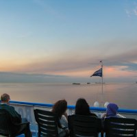 Белые ночи на Ладоге :: Владимир Безбородов
