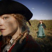 Две Девушки на кукурузном поле :: Алексадр Мякшин