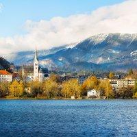 Озеро Блед, Словения, ноябрь 2016 :: Елена