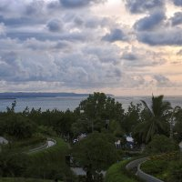 начало заката над океаном.Бали. :: Александр