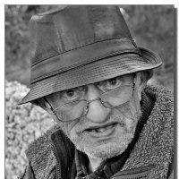 Портрет старого школьного учителя. :: Leonid Korenfeld