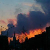 Морозный вечер в центре Москвы) :: Татьяна Тимофеева