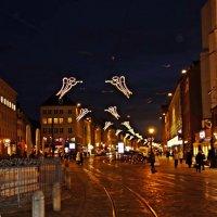 Augsburg - и вновь,над городом летают ангелы, оповещая о приближении Рождества :: Galina Dzubina