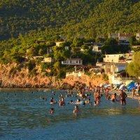 На пляже. :: Оля Богданович