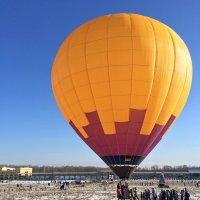 Запуск воздушного шара :: Константин Поляков
