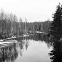 Река Очер. :: Валерий Молоток