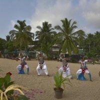 Показываем танец по-сингальски. Showing dance in Sinhala. :: Юрий Воронов