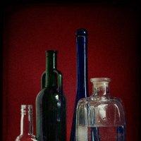 Натюрморт с бутылками 1 :: Цветков Виктор Васильевич