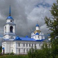 Храм в Семёновском. :: Наталья