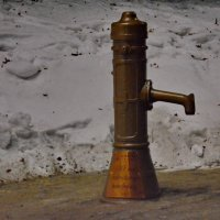 колонка- Памятник первому водопроводу В Перми :: Валентина Папилова