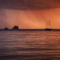 Дождь на закате :: Владимир Печенкин