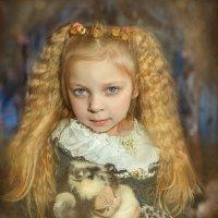 девочка с котом :: Анна Скиргика