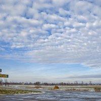 Въезд в посёлок :: Сергей Тарабара