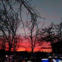 Красочный закат :: Татьяна Тимофеева