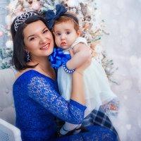 Предновогоднее. Мама с дочей! :: Ольга Егорова