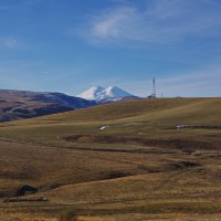 Эльбрус на горизонте. :: Ирина Нафаня